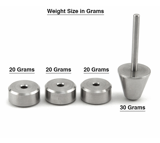 kegel weights sizes